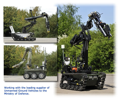Working with the leading supplier of Unmanned Ground Vehicles 2010